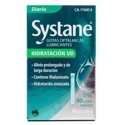 SYSTANE ULTRA PLUS HIDRATACION UNIDOSIS GOTAS OFTALMICAS LUBRICANTES 0.7 ML 30 VIALES UD
