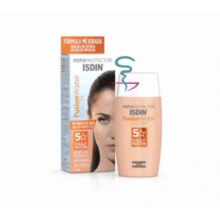 ISDIN FOTOPROTECTOR SPF-50 FUSION WATER COLOR 50 ML