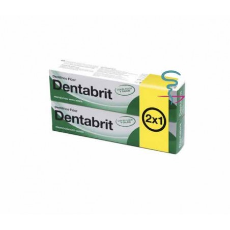 DENTABRIT FLUOR  75 ML 2 U