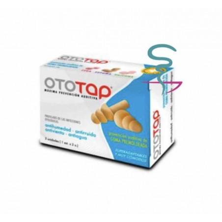 OTOTAP TAPONES OIDOS GOMA PREMOLDEADA 2 U