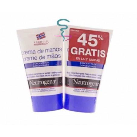 NEUTROGENA CREMA DE MANOS CONCENTRADA  50 ML 2 U