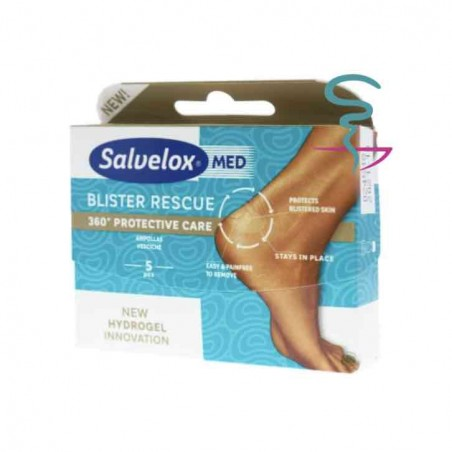 SALVELOX MED BLISTER RESCUE  5 U