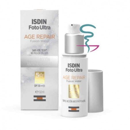 ISDIN FOTOPROTECTOR FOTOULTRA AGE REPAIR WATER LIGHT TEXTURE 50 ML