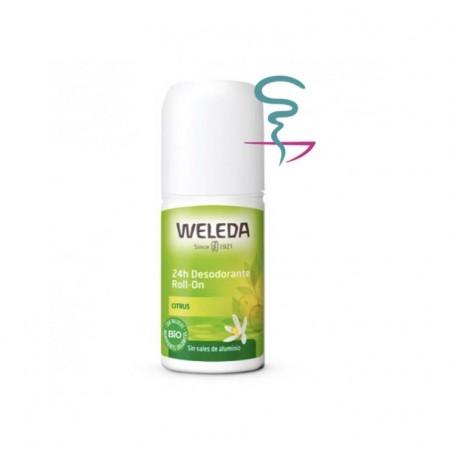 WELEDA FRESH 24 H DESODORANTE CITRUS  ROLL ON 50 ML