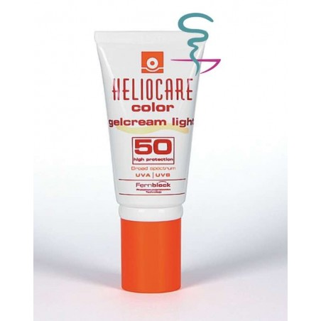 HELIOCARE COLOR GELCREAM SPF 50 PROTECTOR SOLAR  1 ENVASE 50 ML LIGHT
